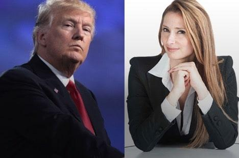 Liinda Grandia CEO Miss Multiverse vs Donald Trump